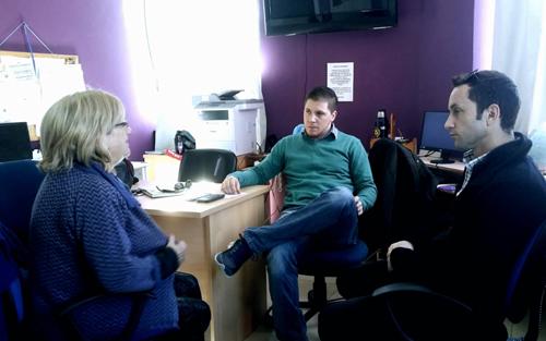 Reunión con coordinadores departamentales