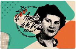 100 años Amalia de la Vega