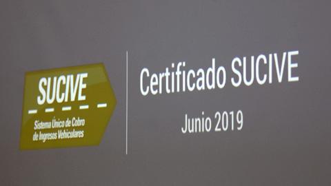 Certificado SUCIVE