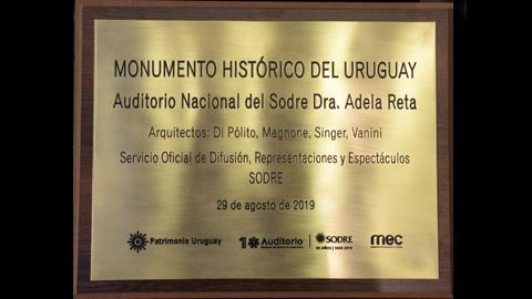 placa de designación