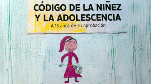 tapa del código del niño y el niño