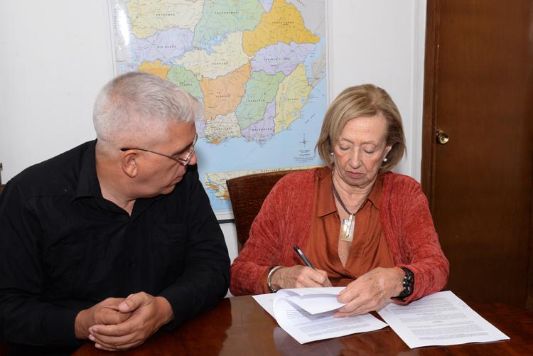 firma de memorandum
