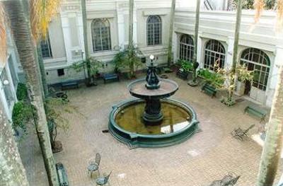 Patio del Museo Antropológico
