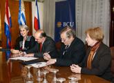 Firma convenio BCU-AGN