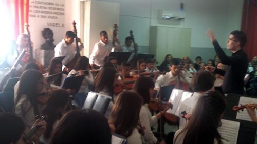Orquesta en San Ramón