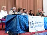 Mesa de autoridades de Compromiso Educativo